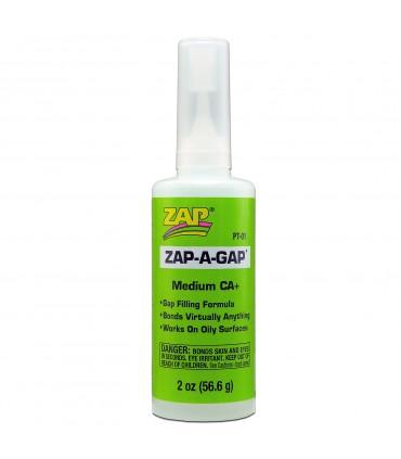 ZAP-A-GAP CA+ (Green Label) - Medium Viscosity - 2 Oz.