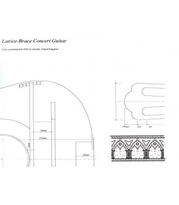 Lattice -Brace Concert Guitar plan