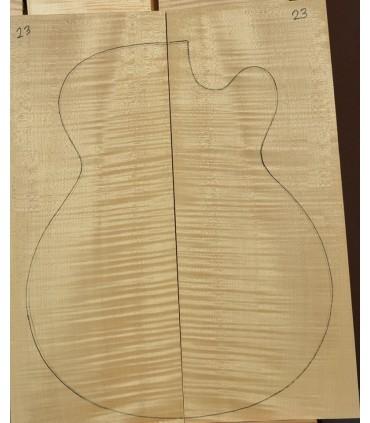 Maple zij-en achterblad AA
